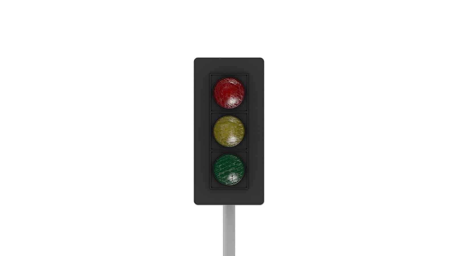 Malfunctioning traffic lights