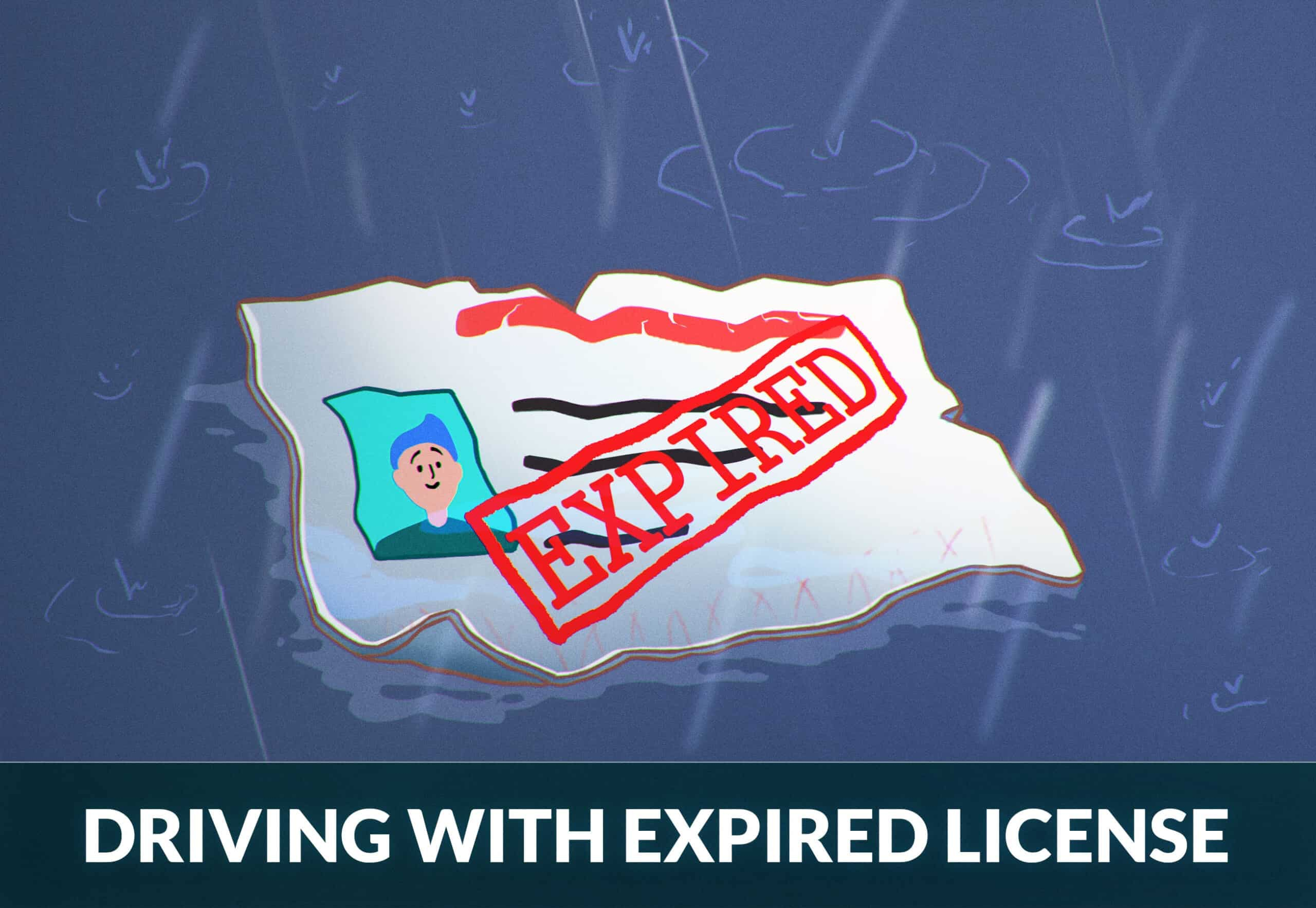 Driving with an expired driver's license