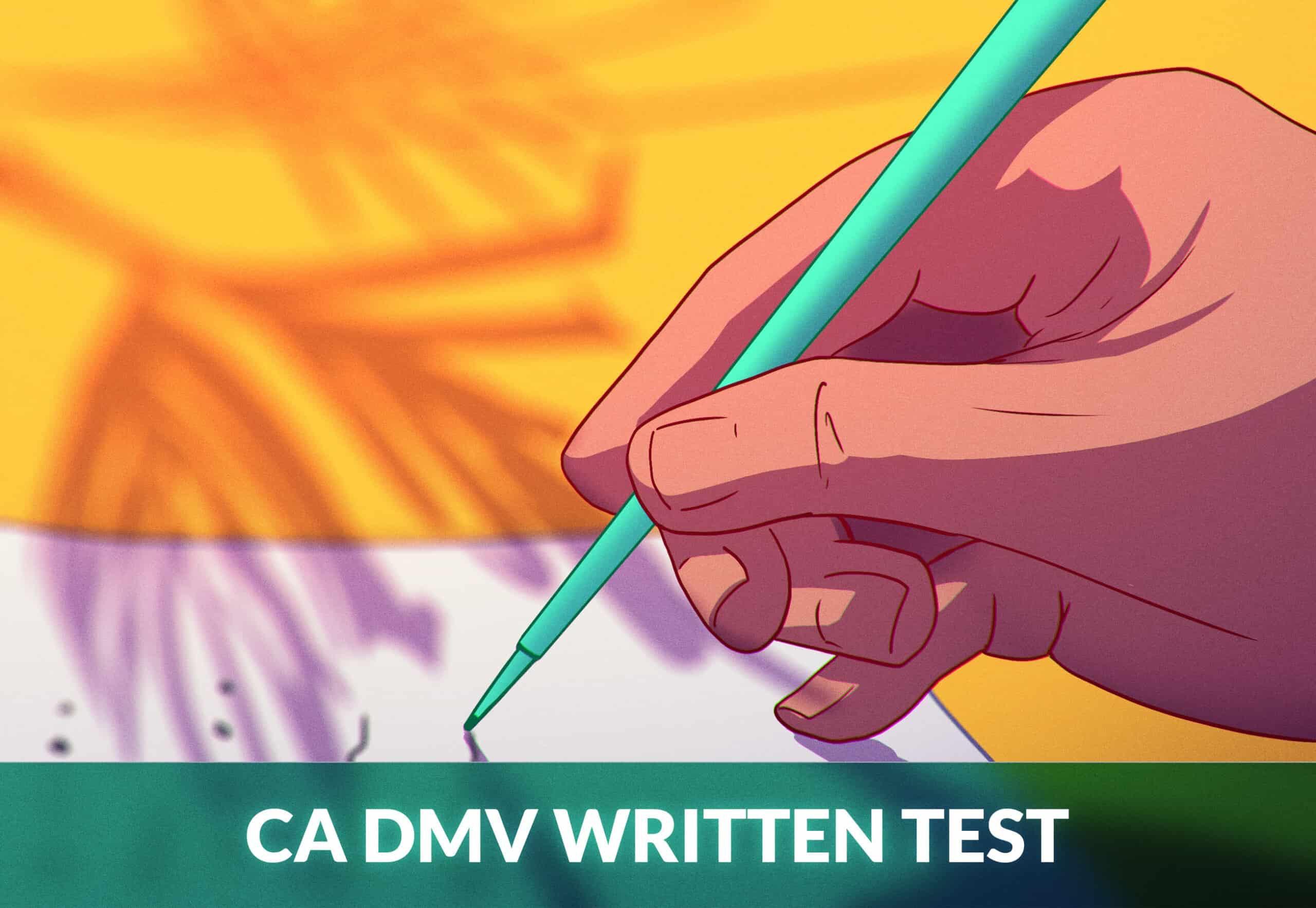 California dmv written test