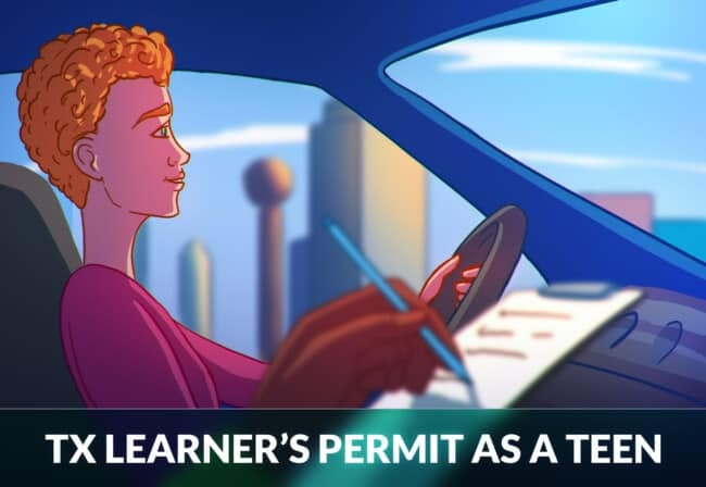 exas Learner's Permit as a Teen
