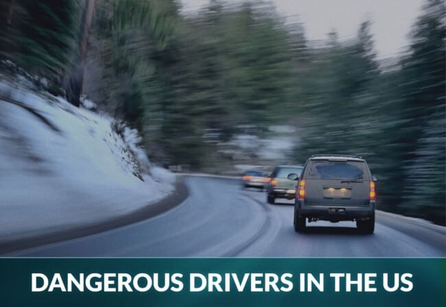Most dangerous drivers in US