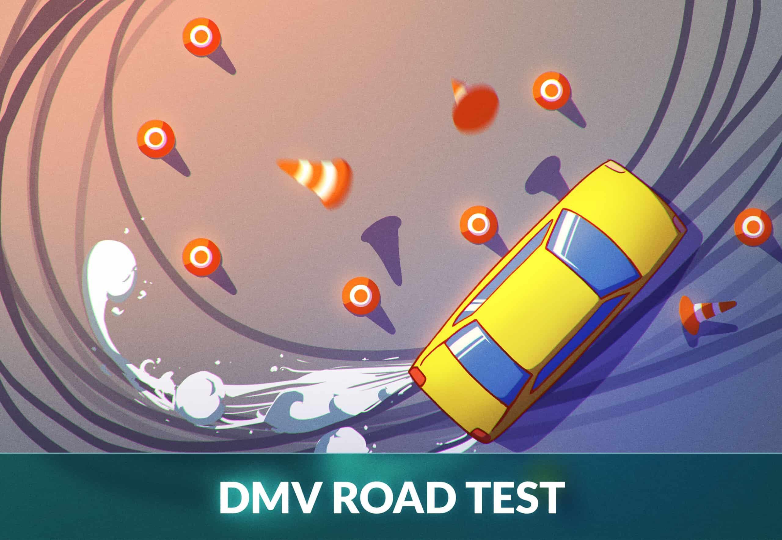 dmv road test