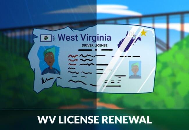 West Virginia driver's license renewal