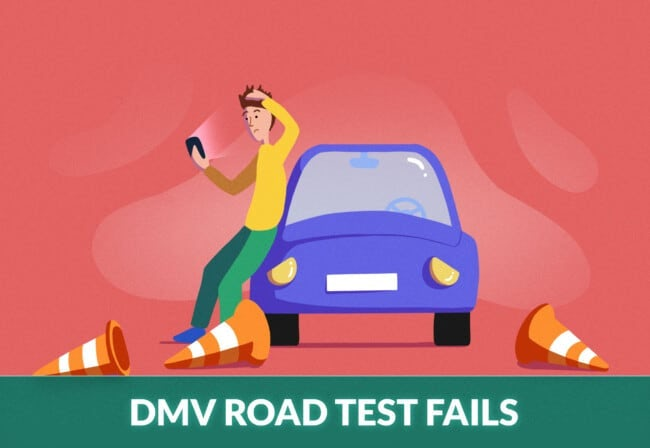 Most Common Reasons Student Drivers Fail Their Driving Tests