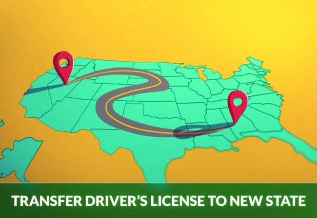 TRANSFER DRIVER'S LICENSE TO A NEW STATE