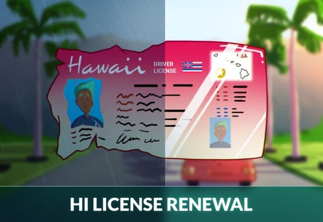 Hawaii Driver's License Renewal (2)