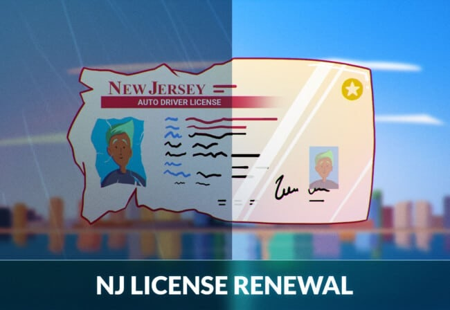 New Jersey Driver's License Renewal