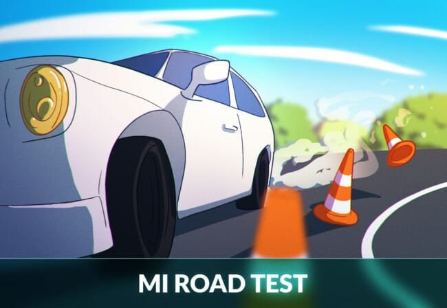 Michigan road test