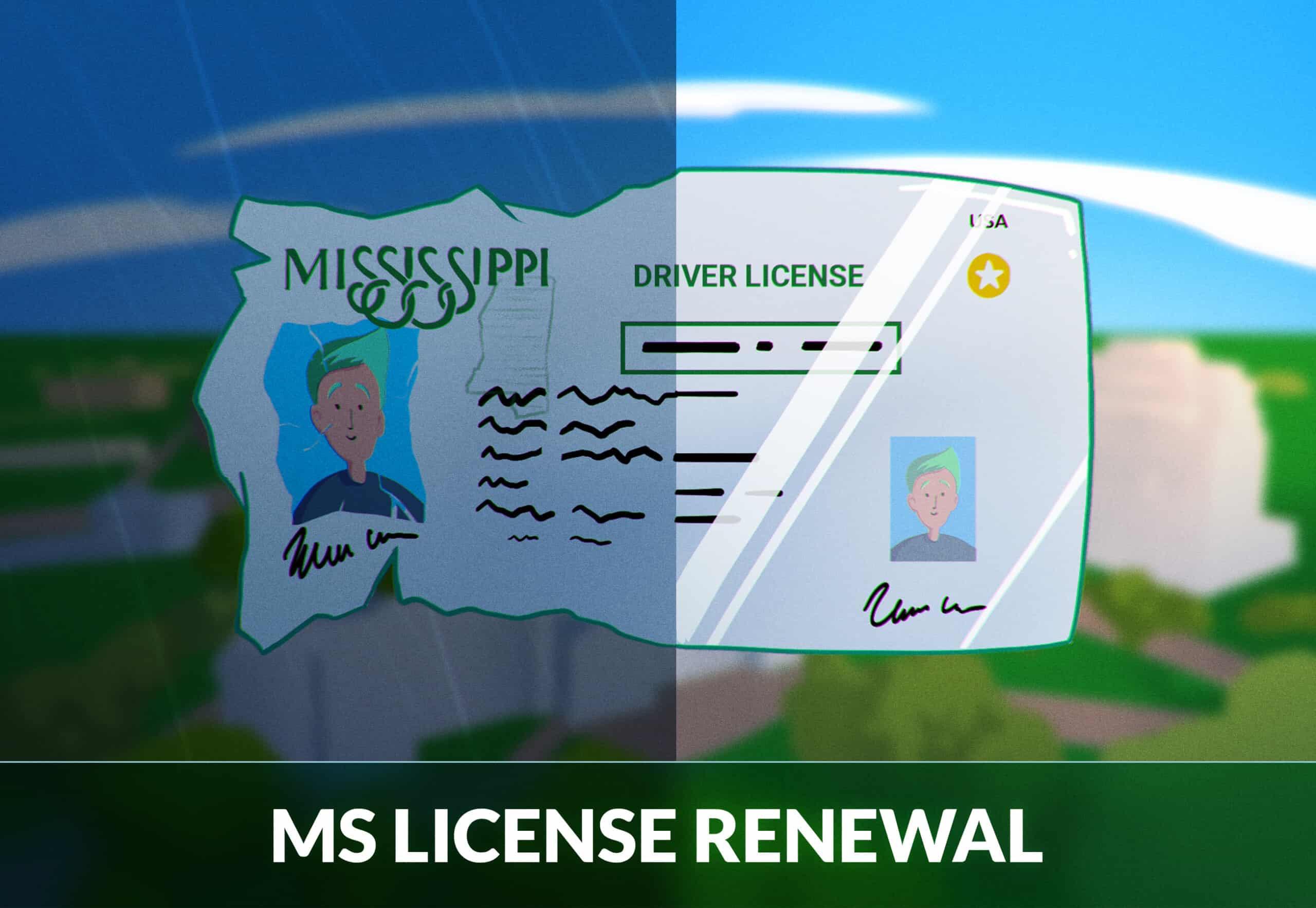 Mississippi driver's license renewal