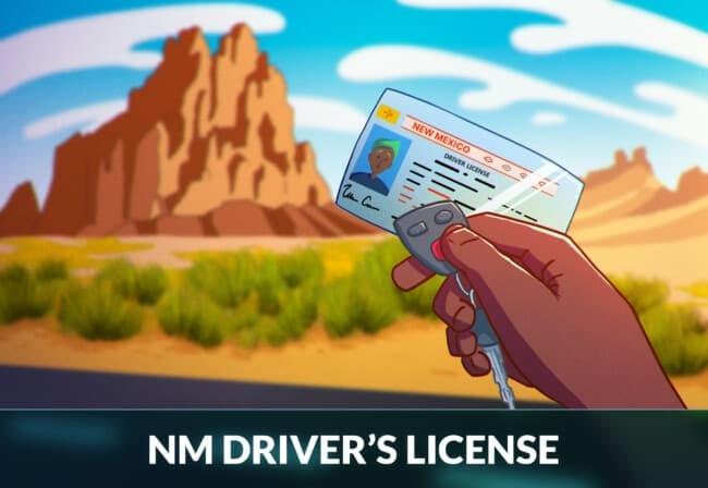 New Mexico driver's license