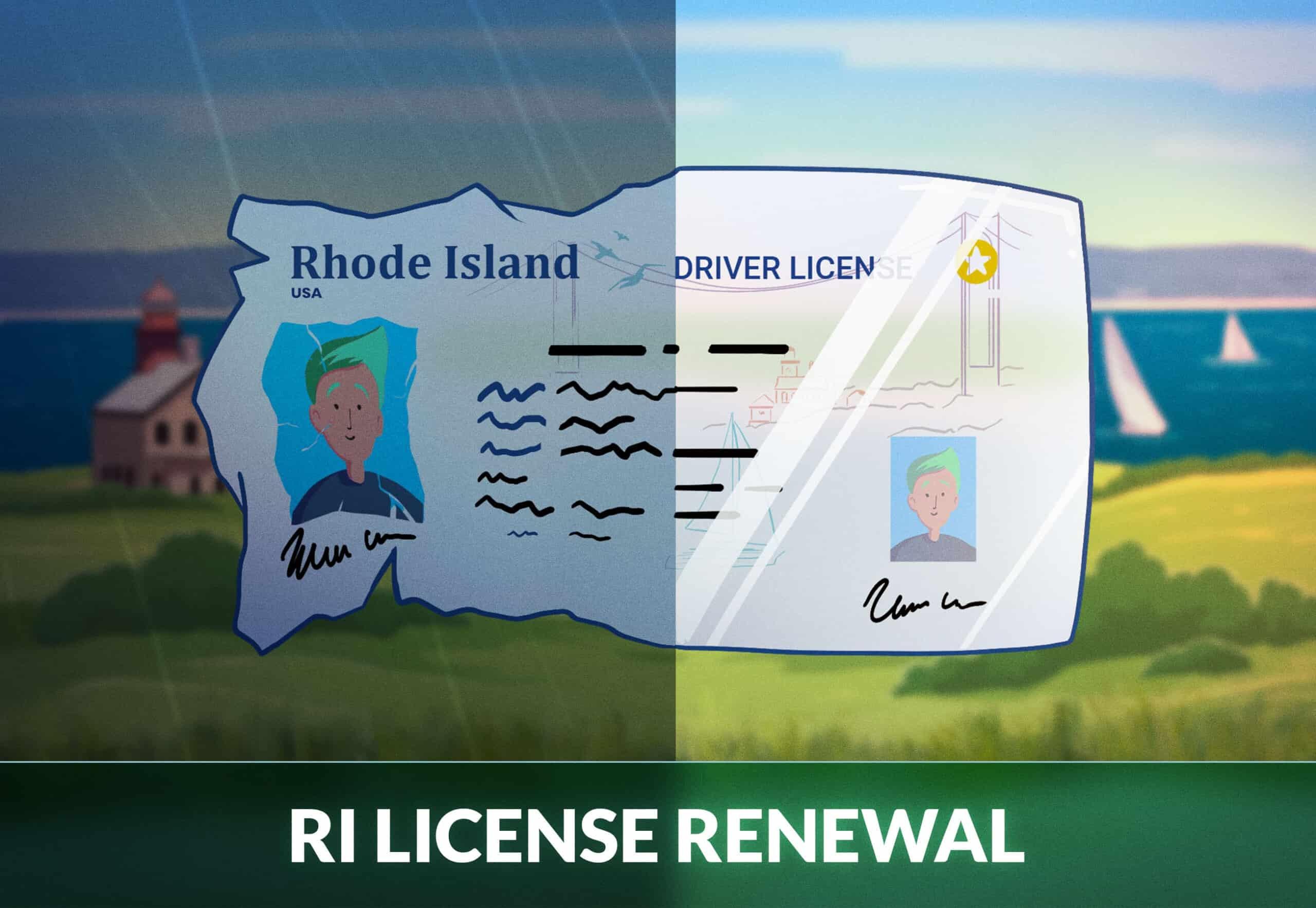 Rhode Island driver's license renewal