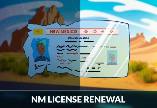 New Mexico Driver's License Renewal
