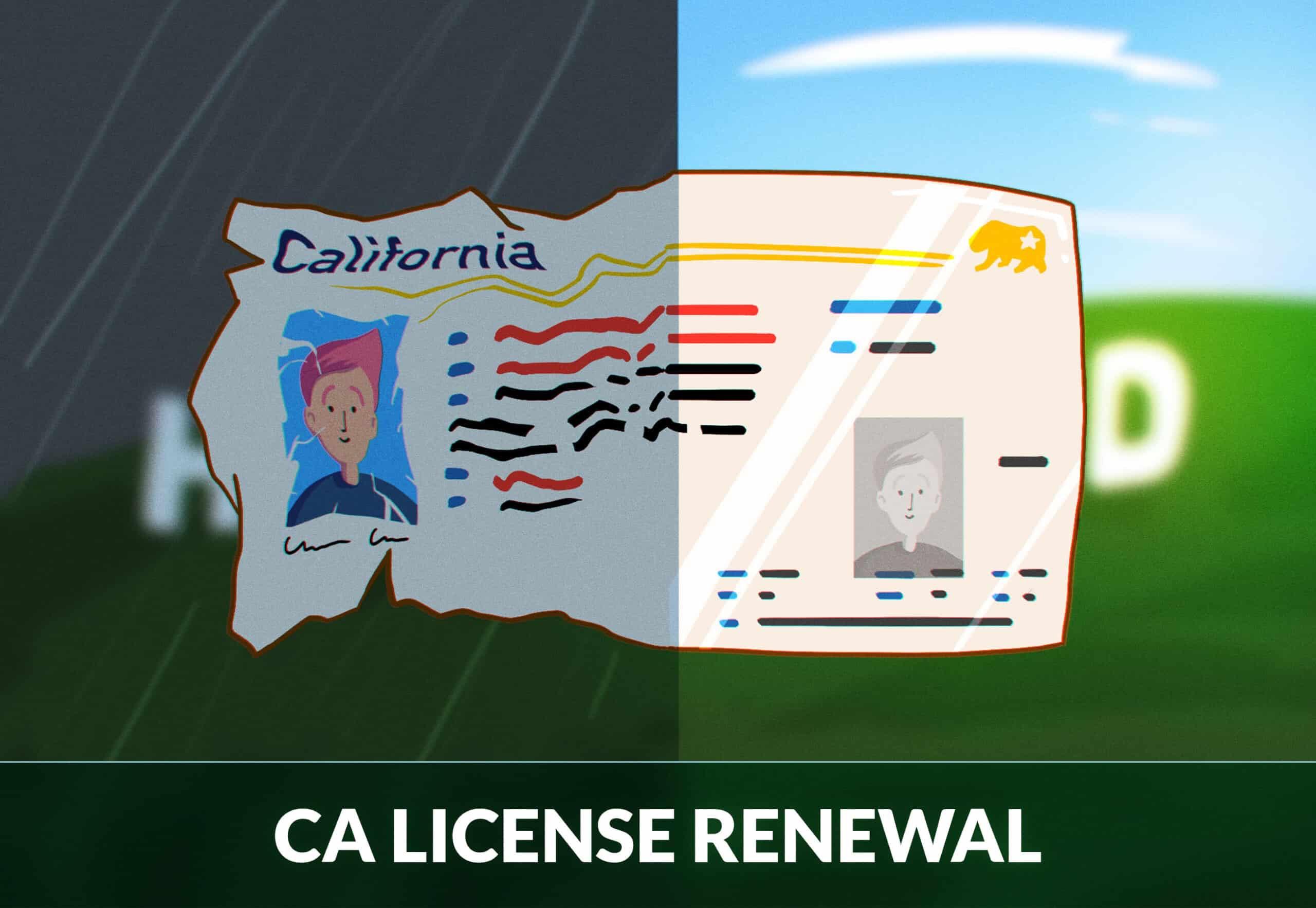 California Driver's License renewal
