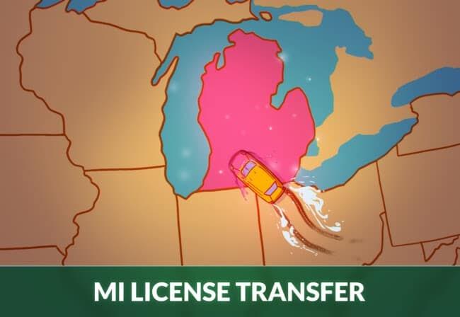 transfer drivers license to Michigan