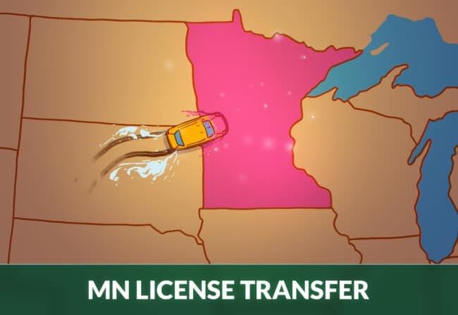 Minnesota driver's license transfer