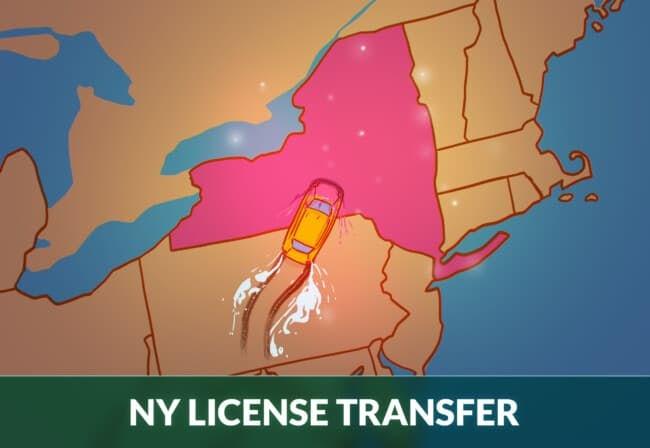 New york driver's license transfer