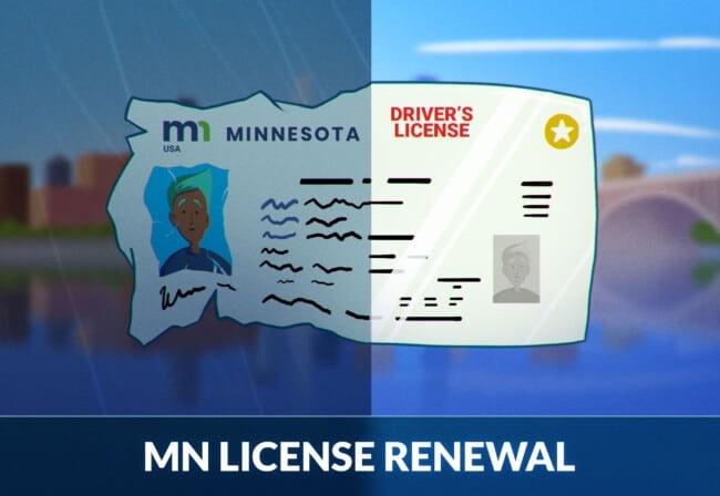 Minnesota driver's license renewal