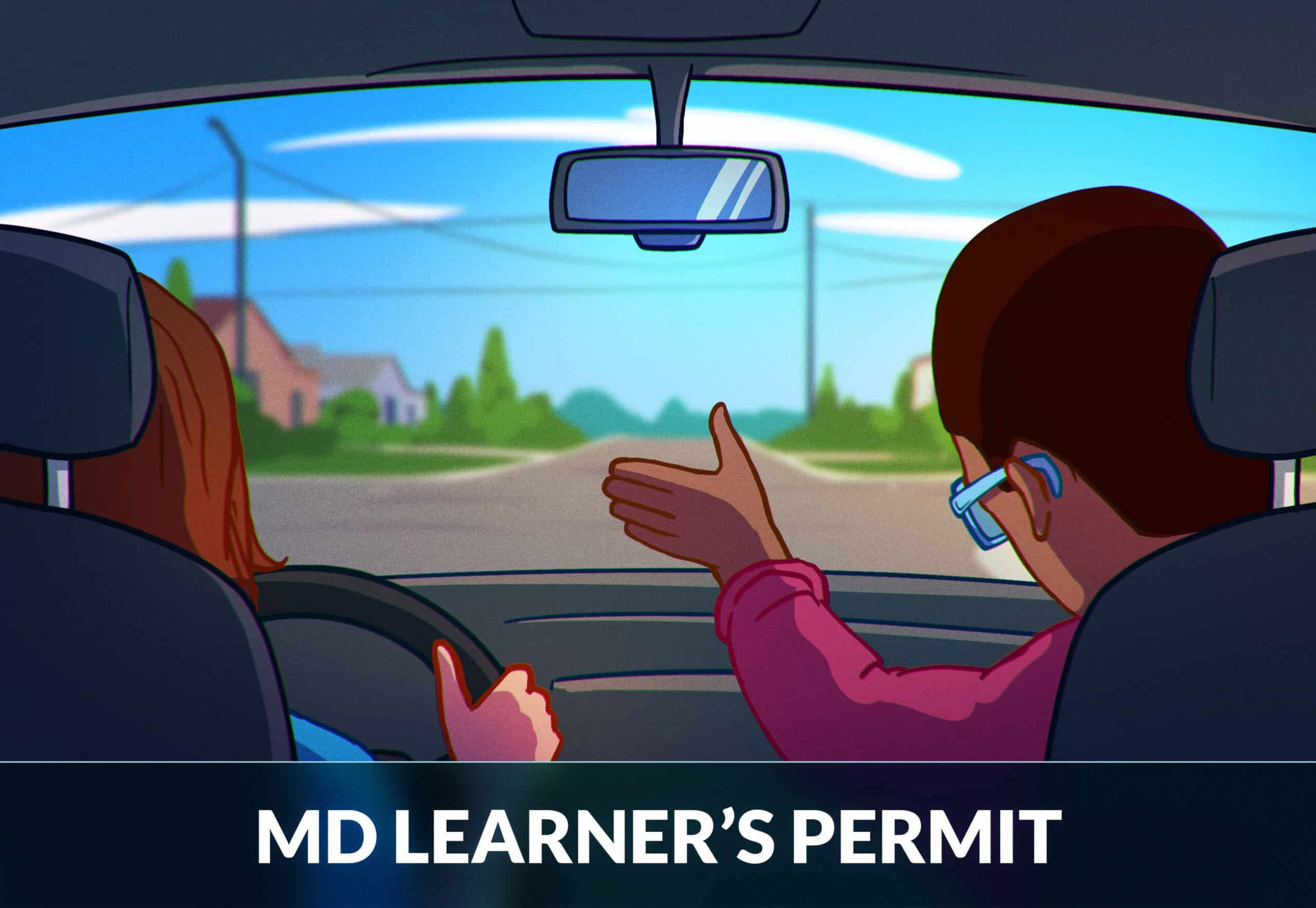 Maryland learners license