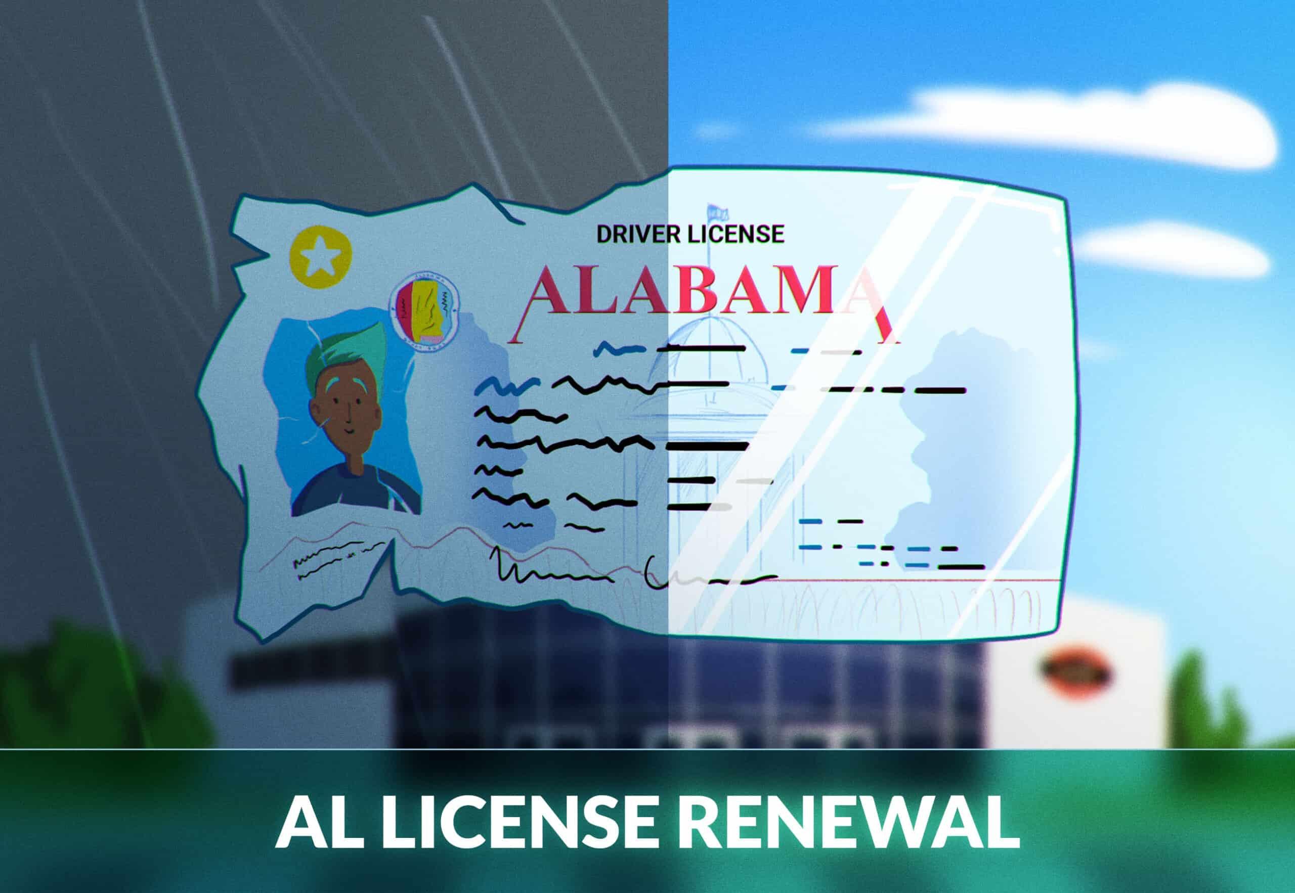 Alabama Renew License