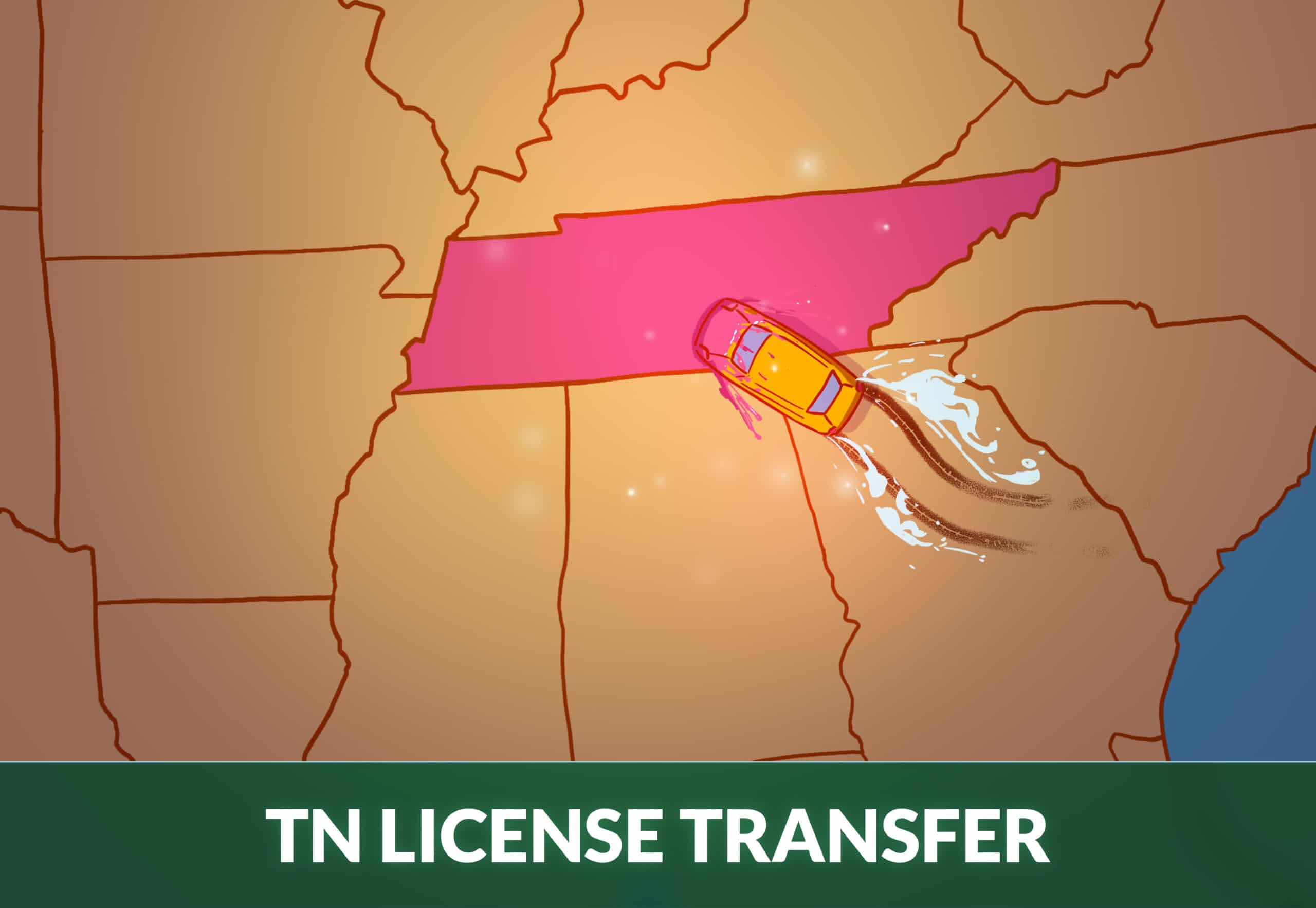 transfer driver license to Tennessee