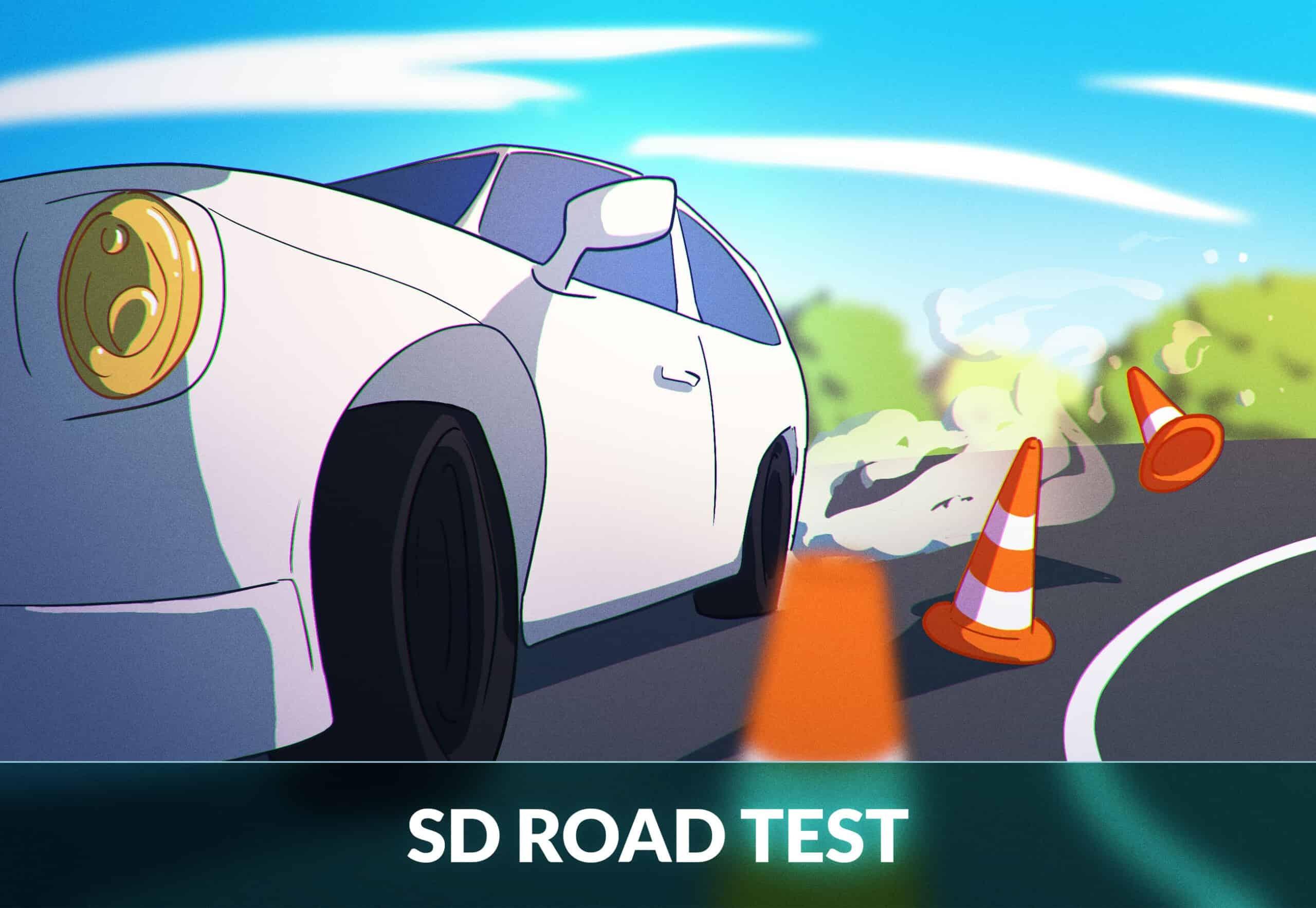 South Dakota road test