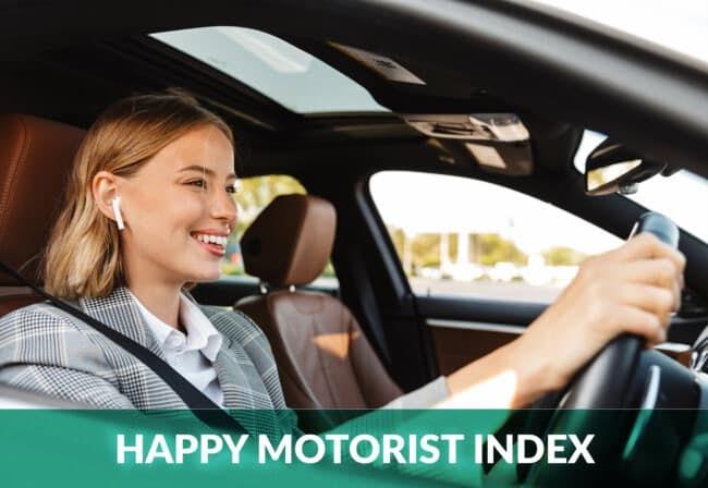 happy motorist index