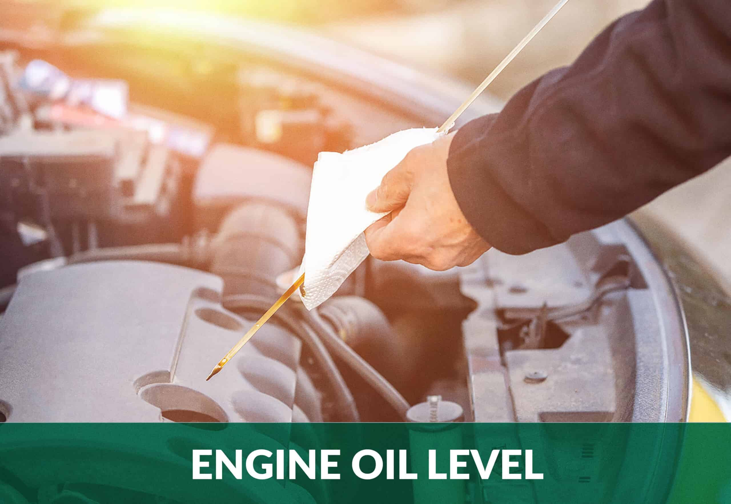 Engine oil level