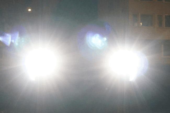 high beam headlights