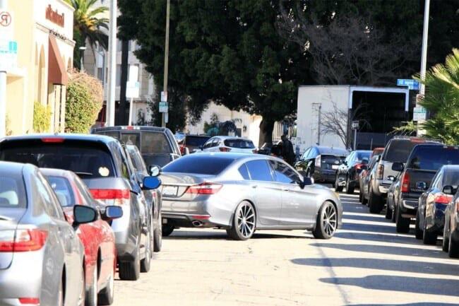 reverse parallel parking