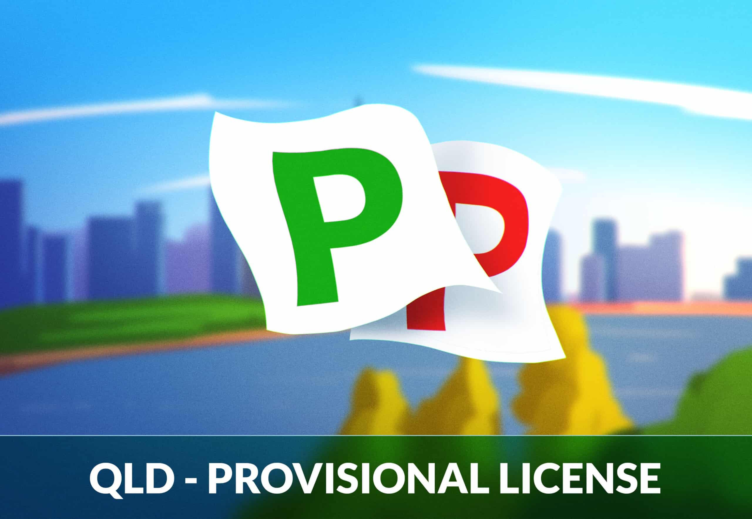 QLD Provisional licence