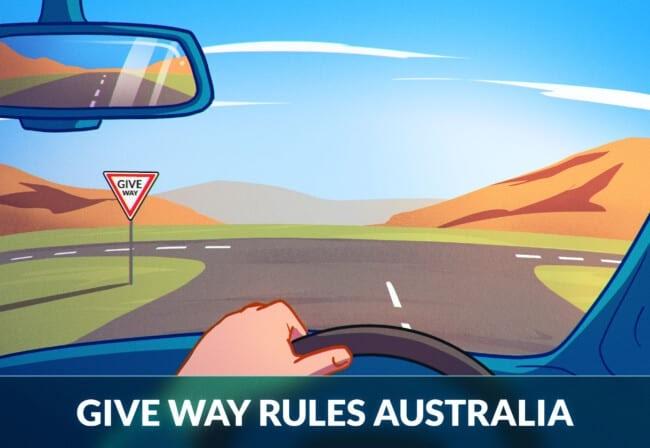 Give Way Rules Australia