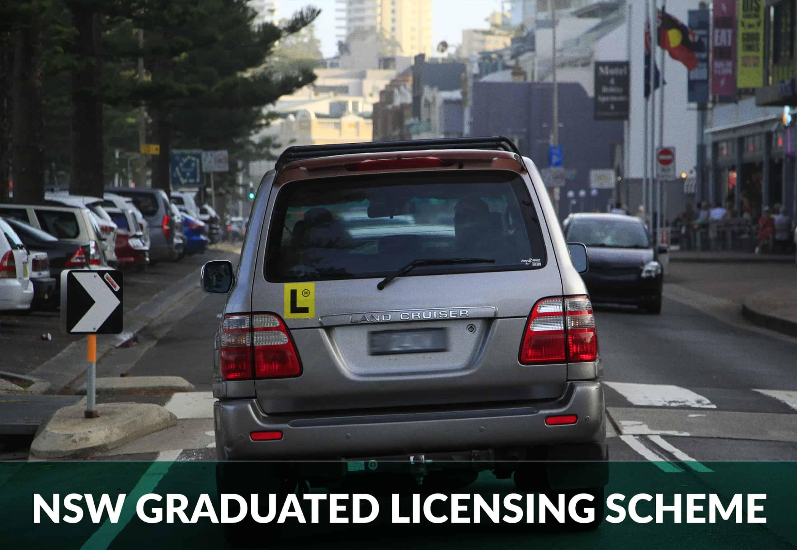 NSW graduated licensing scheme